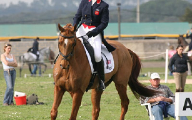 London 2012 Olympics: Zara Phillips in the Olympic Eventing Team