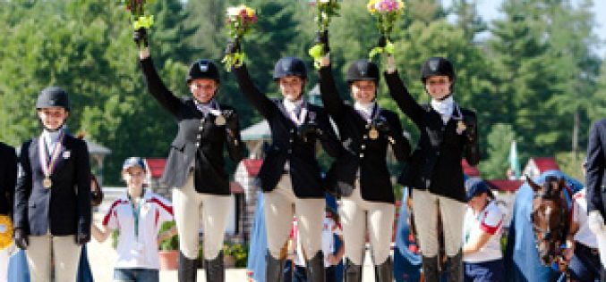 Abundance of Talent at FEI North American Junior and Young Rider Championships 2012