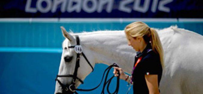 Atletas equinos de concurso completo passam na inspecção veterinária