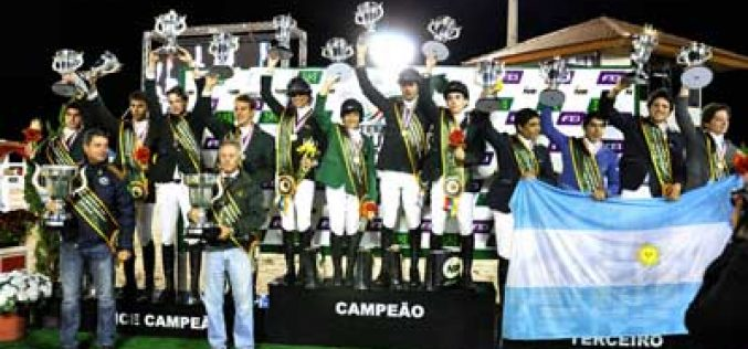 Six times Gold for Brazil at FEI Americas and South American Jumping Championships