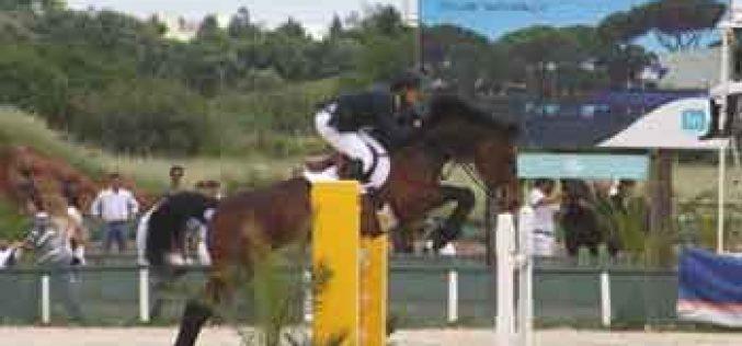 Rodrigo Morgado no Campeonato do Mundo de Raças para Cavalos Novos em Lanaken