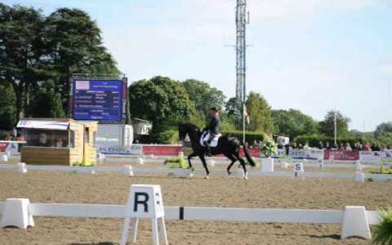 Carl Hester campeão da Grã Bretanha com  Uthopia (16/09/12)