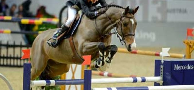 Portugal's Luciana Diniz and Lennox stormed to victory in Zurich