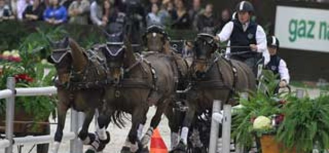 FEI World Cup™ Driving Final in Bordeaux (FRA) – an exciting finale to a thrilling season