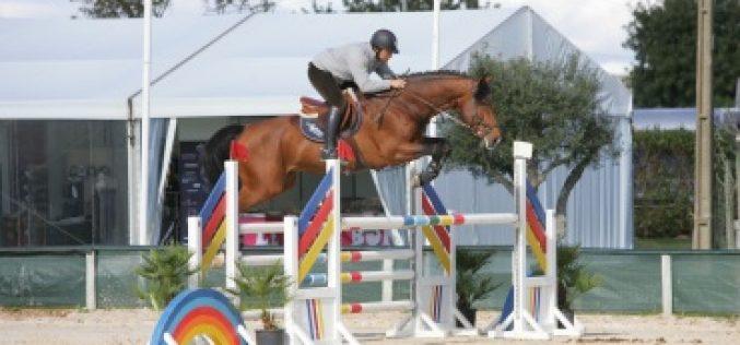 Cavalos Novos já saltam em Vilamoura