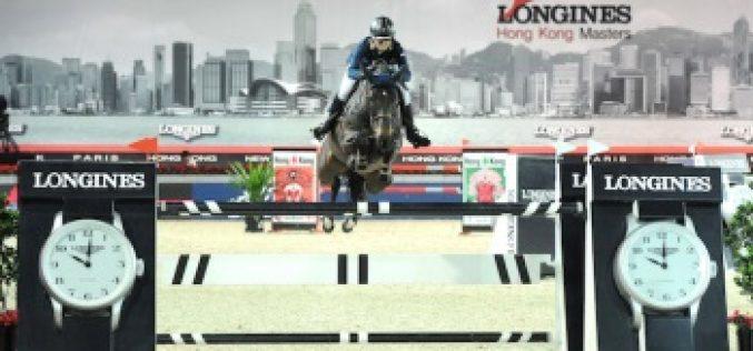 Katharina Offel thrills show jumping fans in Hong Kong