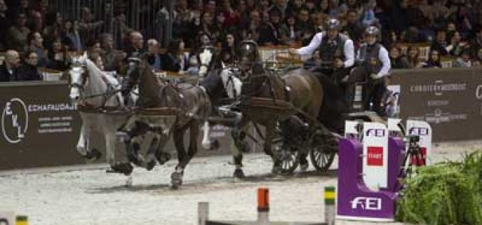 Koos de Ronde is crowned FEI World Cup™ Driving champion 2013 in a thrilling finale