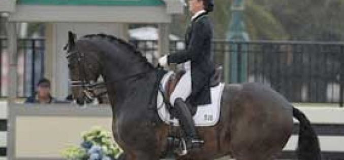 Tinne Vilhelmson-Silfven First and Third in the FEI Grand Prix in Florida