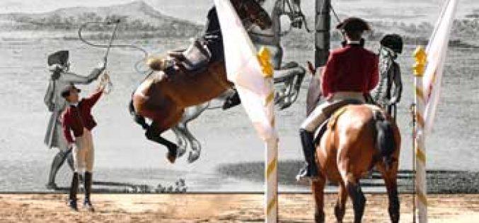 Parques de Sintra com a Escola Portuguesa de Arte Equestre e Cavalos Ardennais no Pet Festival