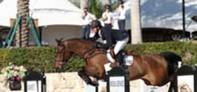 McLain Ward and Zander Triumph in the Ruby et Violette WEF Challenge Cup Round 5