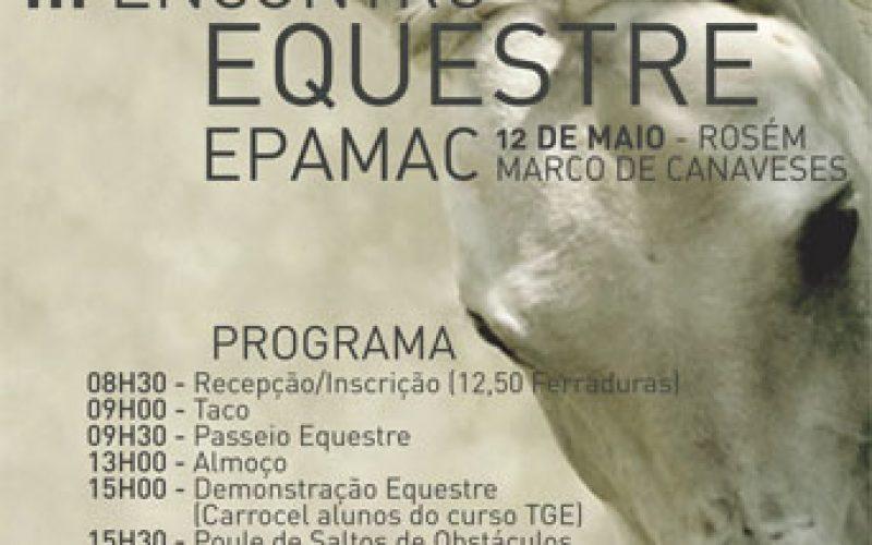 III Encontro Equestre EPAMAC