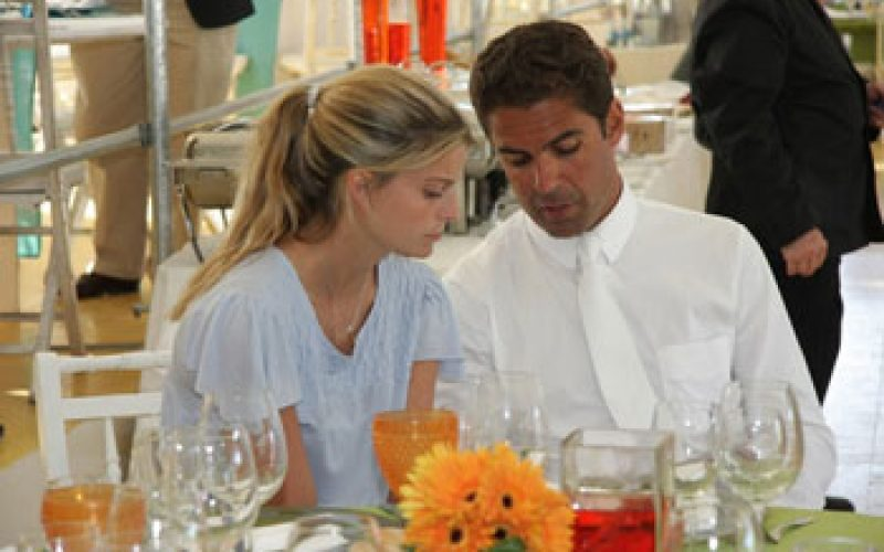 Athina Onassis provides a boost to Lufthansa