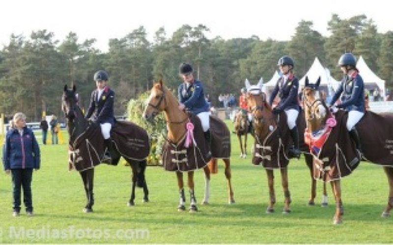 Great Britain wins its first Nations Cup in Fontainebleau