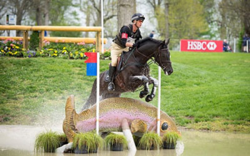 Superb Nicholson takes pole position at Rolex Kentucky