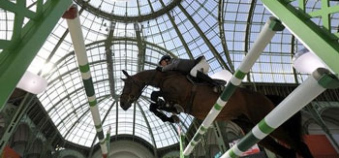 Ludger Beerbaum Ludger Beerbaum dominates at the Hermès Grand Prix