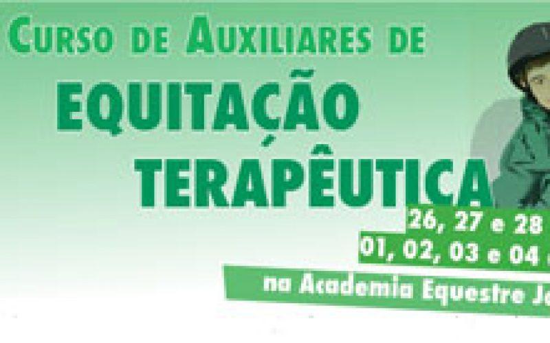 2º Curso de Auxiliares de Equitação Terapêutica