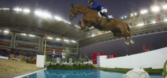 Gerco Schröder and London won Doha Grand Prix