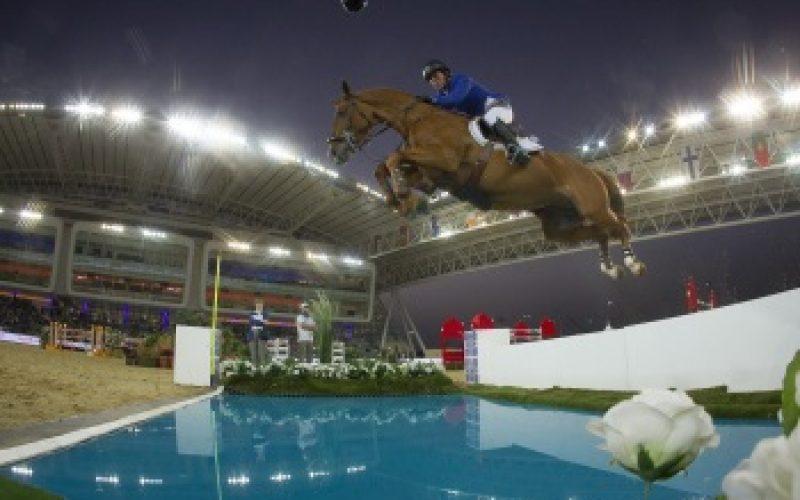 Gerco Schröder and London won Doha Grand Prix