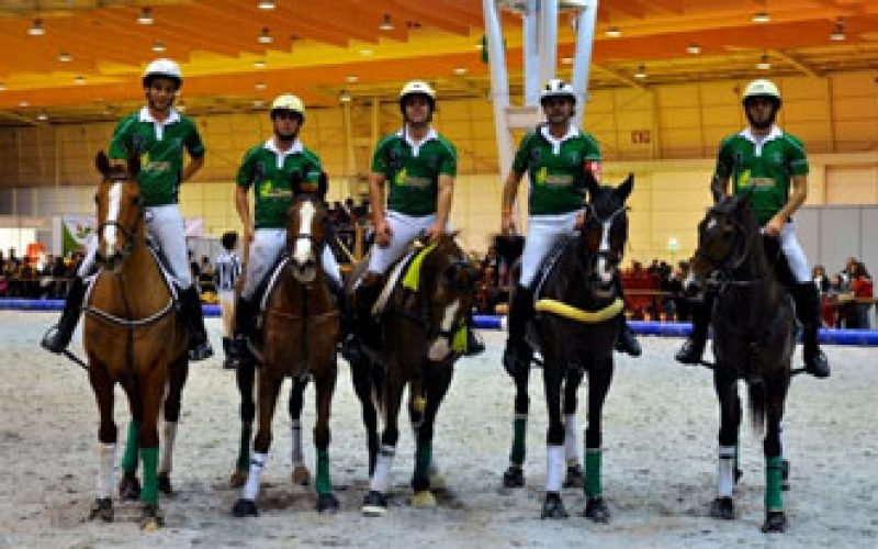 O Horseball Clube de Oeiras não deu tréguas em Coimbra