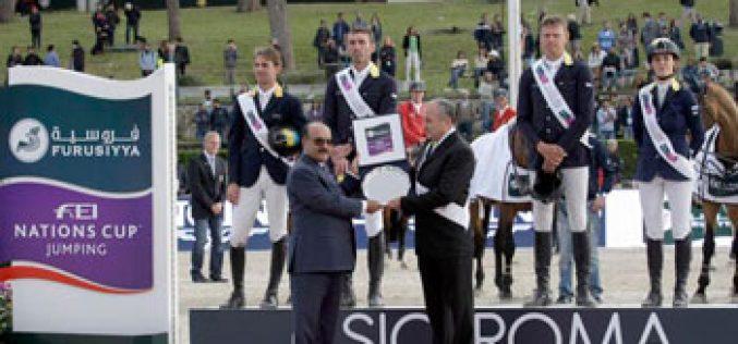 Historic win for Ukraine at thrilling Furusiyya leg in Rome