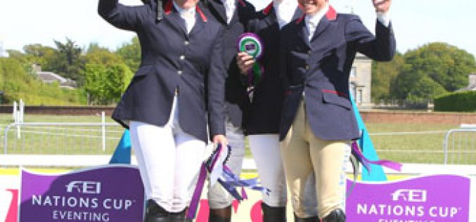 FEI Nations Cup™ Eventing: British team triumphs