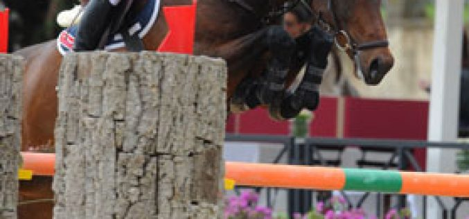 Brash wins the opening international class in Rome