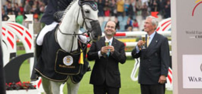 Ben Maher wins the WARSTEINER Prize, Prize of Europe – British victory in the first major jumping competition in Aachen