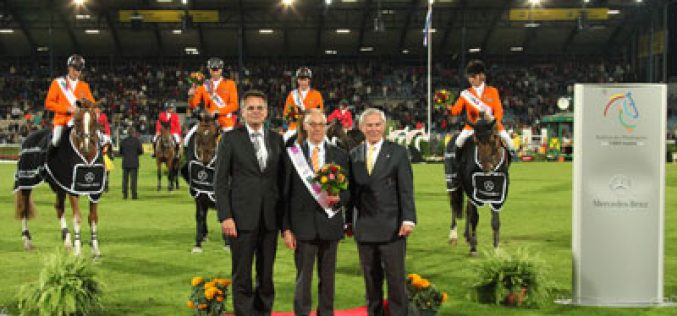 Dutch triumph in the Nations' Cup at Aachen