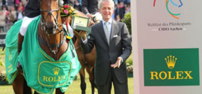 Nick Skelton wins the Rolex Grand Prix in Aachen – and writes history