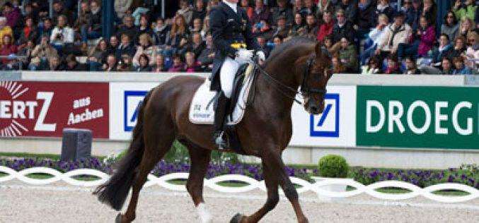 Confident German victory in FEI Nations Cup™ Dressage at Aachen