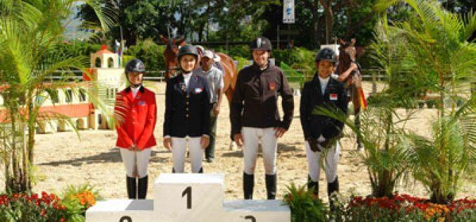 Isabel Sanchez gallops to victory in Caracas