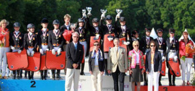 Team Gold for German Juniores in Compiègne