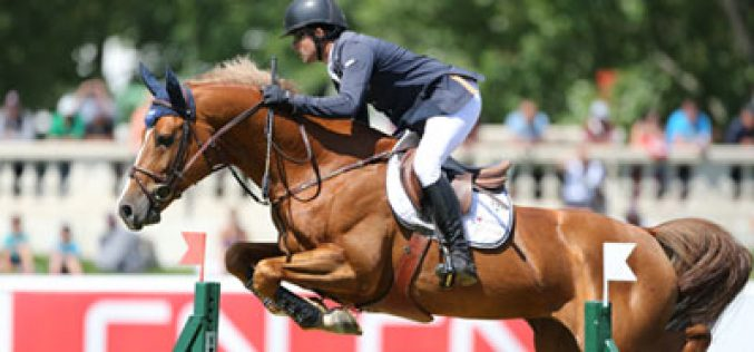 Conor Swail and Lansdowne Triumph in the Grand Prix at Spruce Meadows