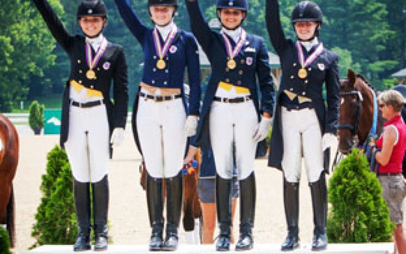 New Stars Turn on the Style at FEI North American Junior and Young Rider Championships 2013