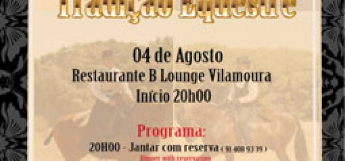 B Lounge Restaurante Tapas e Bar recebe espectáculo equestre