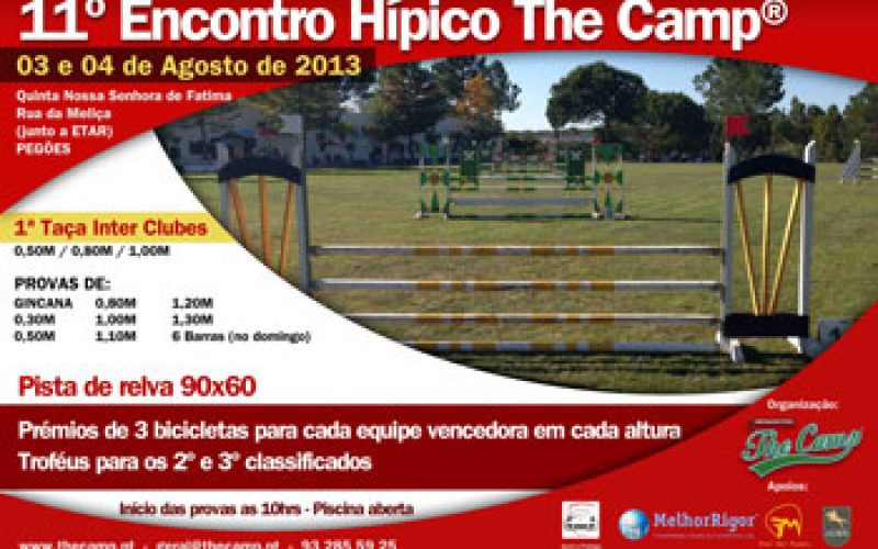 1ª Taça Inter Clubes The Camp® – 3 e 4 de Agosto