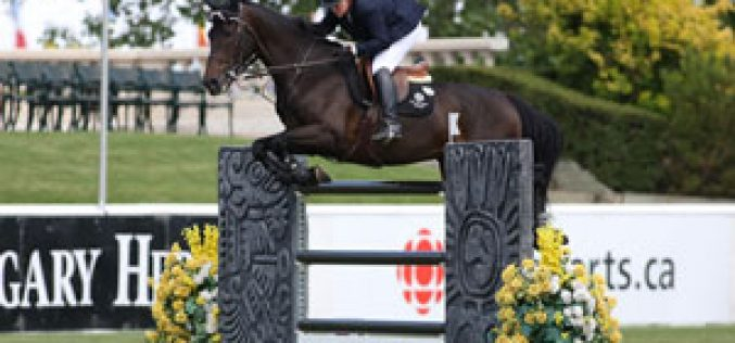 Katie Prudent and V Take Top Prize at Spruce Meadows