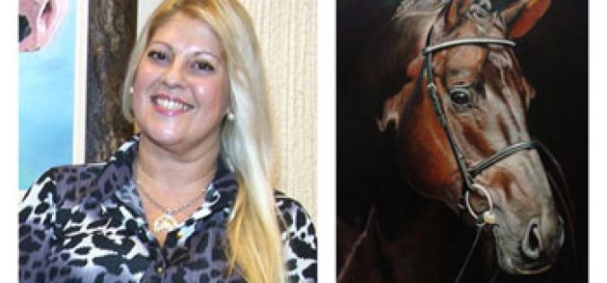 Rosana Cavalcante de Albuquerque no programa Falar de Cavalos