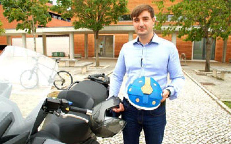 Universidade de Aveiro inova com capacete em cortiça também para equitação