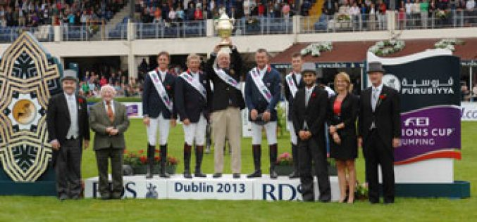 Brilliant British win at Dublin as Europe Division 1 Furusiyya Final line-up is decided