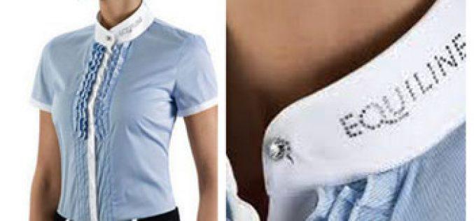 Disponível Camisa de Concurso EQUILINE