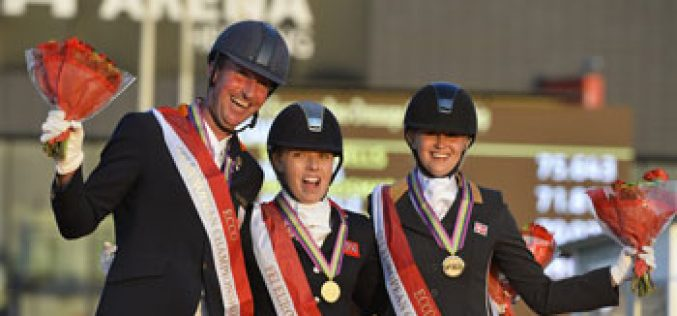 Para-dressage gold for Great Britain and Austria