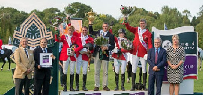 Great German win at Hickstead, but Dublin Furusiyya qualifier will be decisive