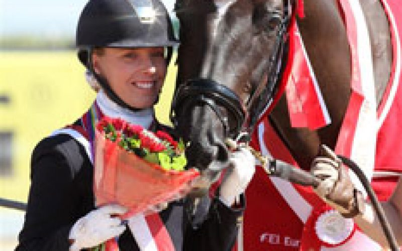 Para-dressage riders showed great freestyles