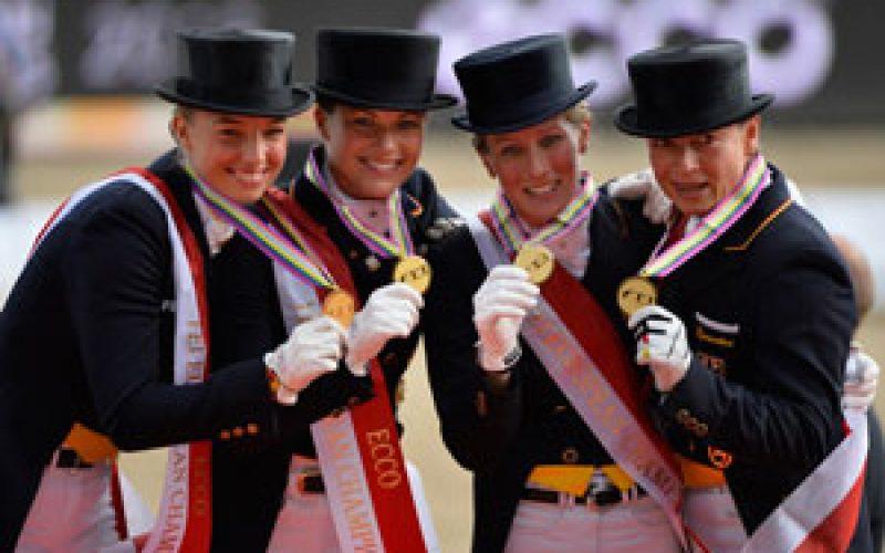 Germany claimed European team gold