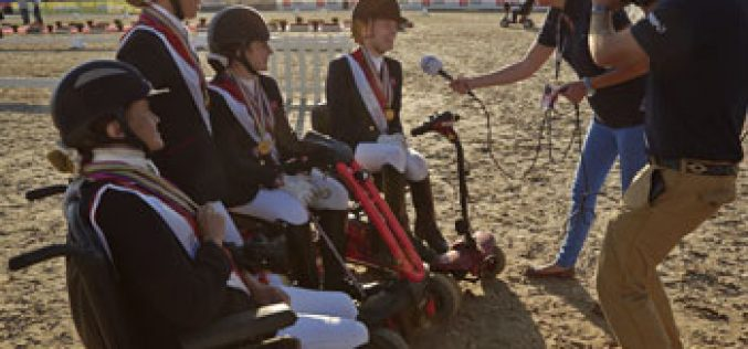 Great Britain dominant as four medals decided at the European Para-Dressage Championships in Herning