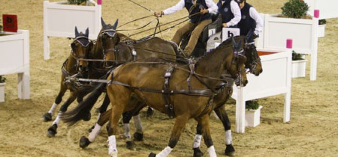 Four-in-hand drivers in fabulous form for new FEI World Cup™ Driving season