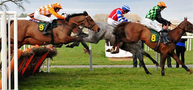 As corridas de cavalos