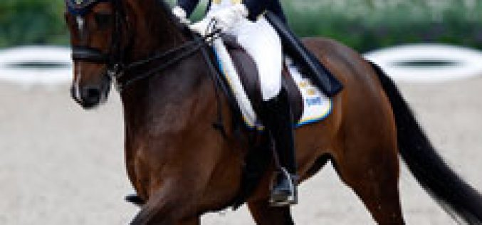 Swedish victory in Kristiansand narrows Dutch lead in FEI Nations Cup™ Dressage series