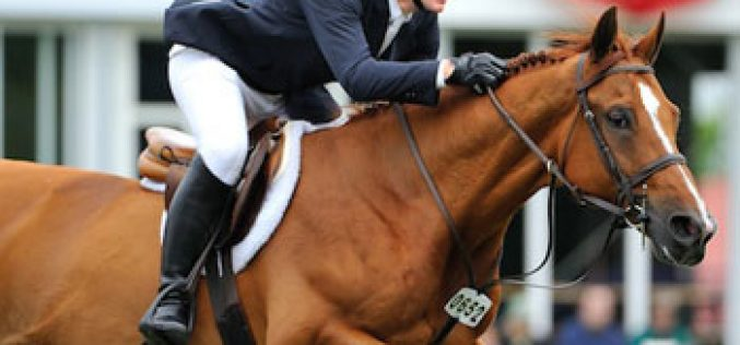 Victory in $210,000 CP Grand Prix Goes to McLain Ward